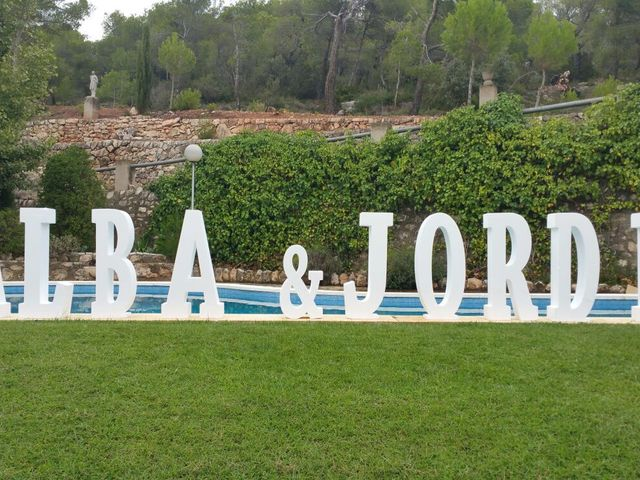 La boda de Jordi Sagristà Isern y Alba Fernandez Llort en Cabra Del Camp, Tarragona 1