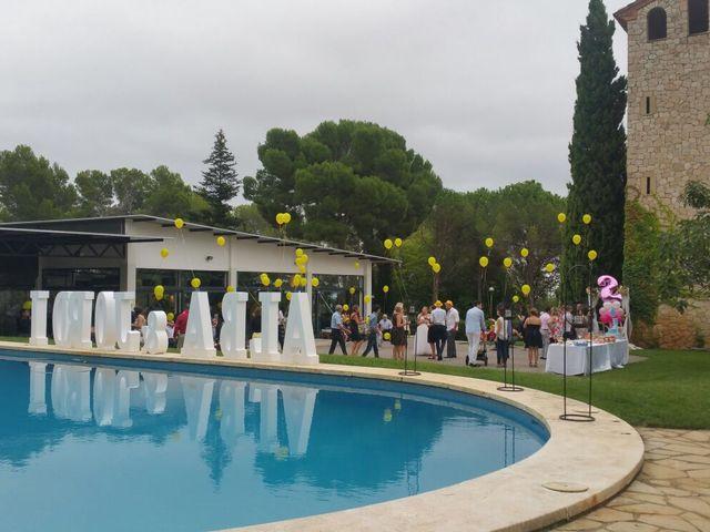 La boda de Jordi Sagristà Isern y Alba Fernandez Llort en Cabra Del Camp, Tarragona 2