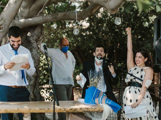 La boda de Alejandro y Cristina en Tagamanent, Barcelona 43