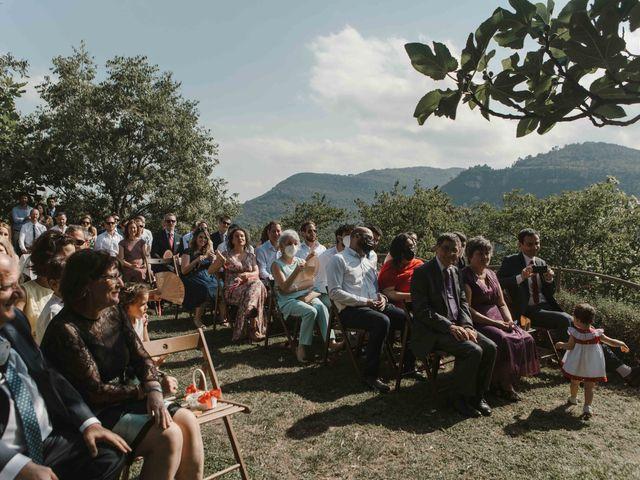 La boda de Alejandro y Cristina en Tagamanent, Barcelona 45