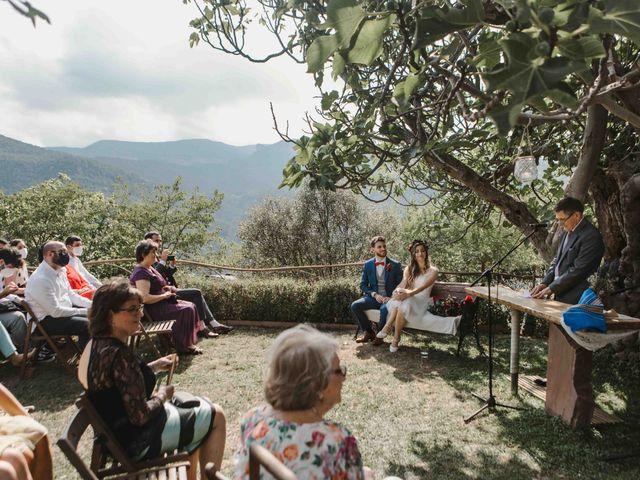 La boda de Alejandro y Cristina en Tagamanent, Barcelona 49