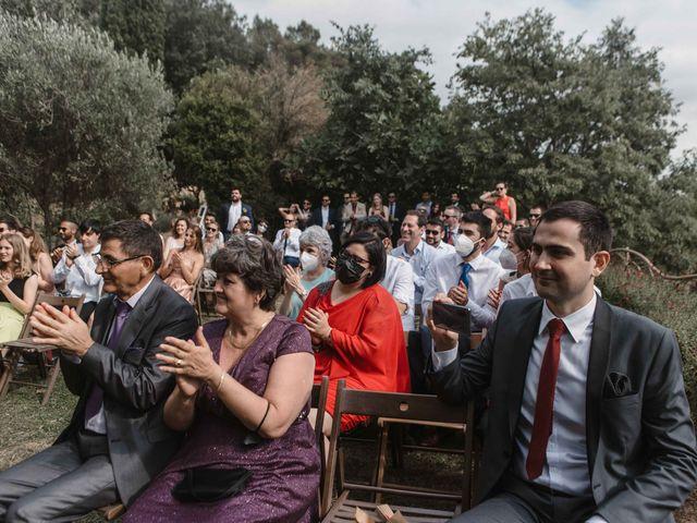 La boda de Alejandro y Cristina en Tagamanent, Barcelona 61