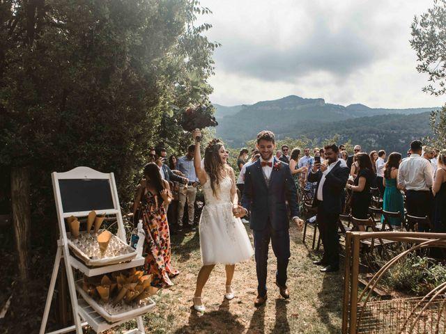 La boda de Alejandro y Cristina en Tagamanent, Barcelona 64
