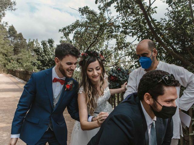 La boda de Alejandro y Cristina en Tagamanent, Barcelona 66
