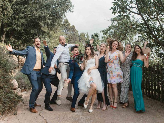 La boda de Alejandro y Cristina en Tagamanent, Barcelona 72