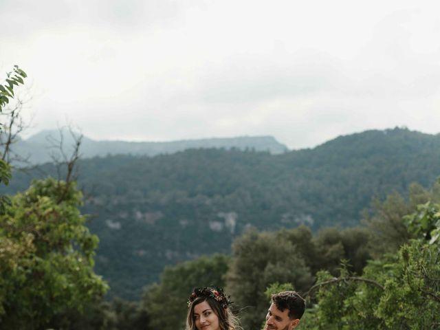La boda de Alejandro y Cristina en Tagamanent, Barcelona 80