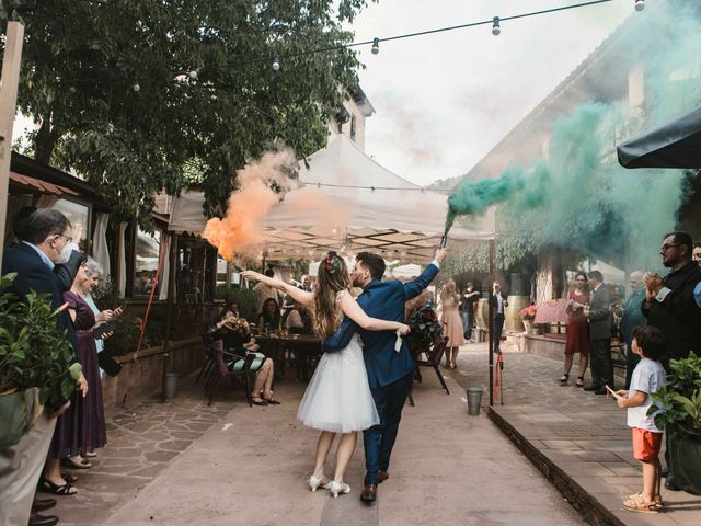 La boda de Alejandro y Cristina en Tagamanent, Barcelona 83