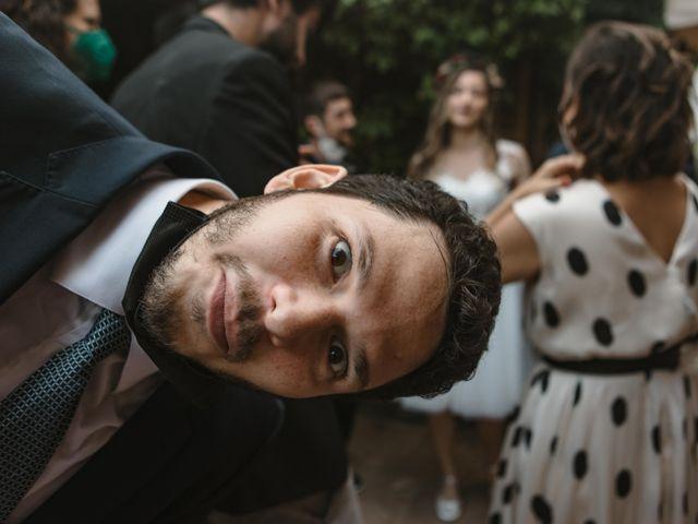 La boda de Alejandro y Cristina en Tagamanent, Barcelona 91