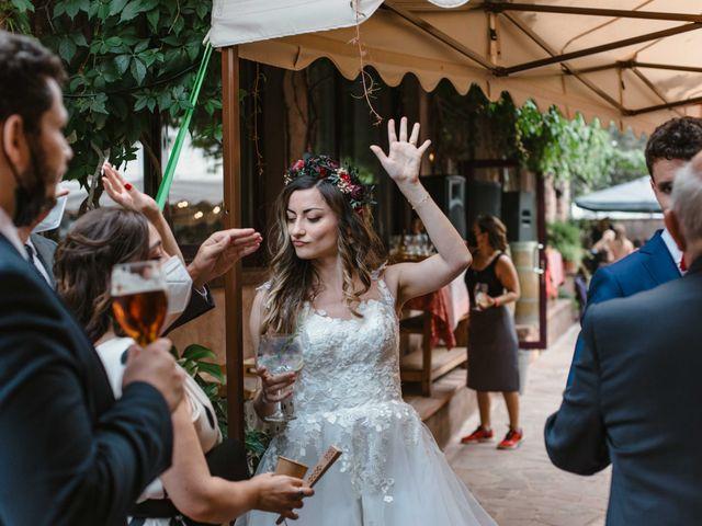 La boda de Alejandro y Cristina en Tagamanent, Barcelona 92