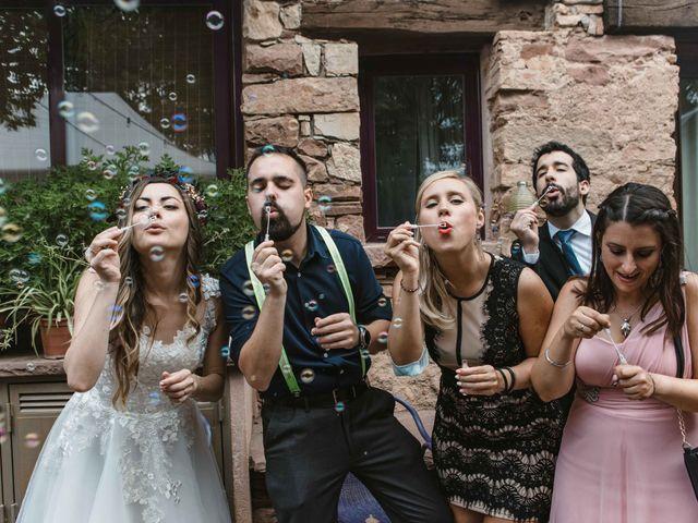 La boda de Alejandro y Cristina en Tagamanent, Barcelona 95