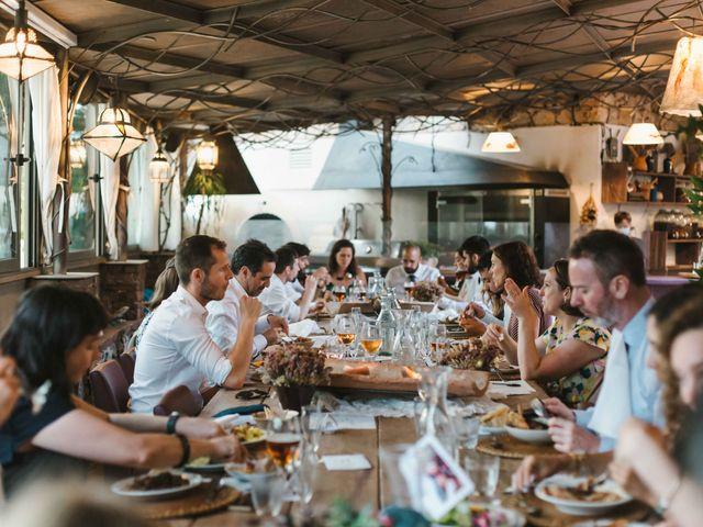 La boda de Alejandro y Cristina en Tagamanent, Barcelona 111