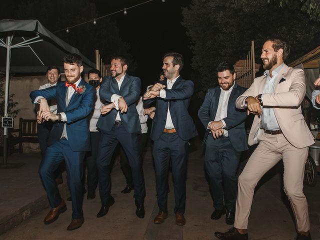 La boda de Alejandro y Cristina en Tagamanent, Barcelona 127