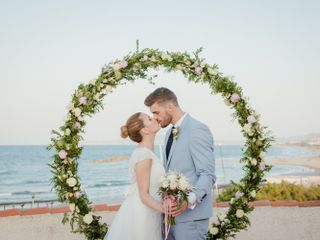 La boda de Melani y Matei