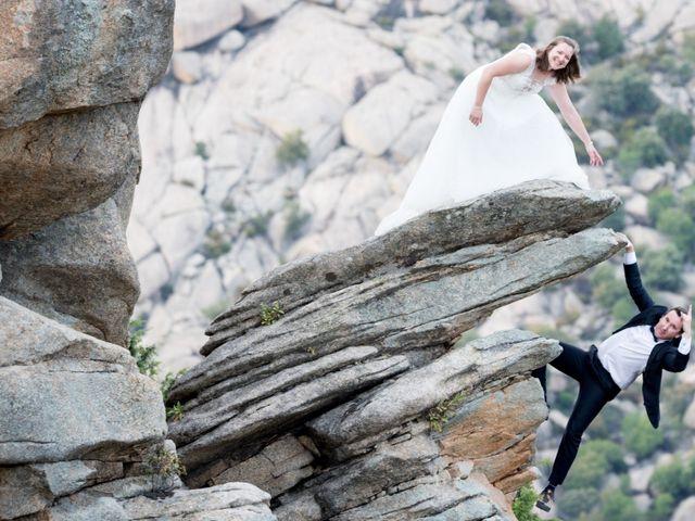 La boda de Rebeca y Jonathan en Collado Villalba, Madrid 15