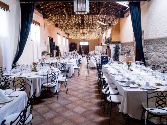 La boda de Rebeca y Jonathan en Collado Villalba, Madrid 34