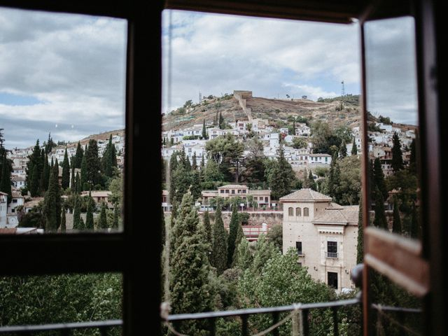 La boda de Joaquín y Ainhoa en Granada, Granada 4