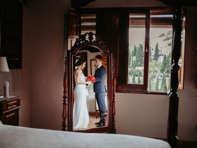 La boda de Joaquín y Ainhoa en Granada, Granada 28