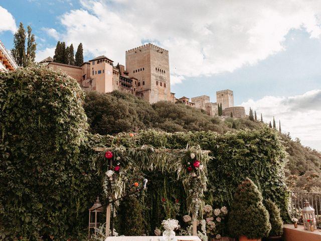 La boda de Joaquín y Ainhoa en Granada, Granada 30