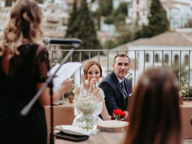 La boda de Joaquín y Ainhoa en Granada, Granada 37