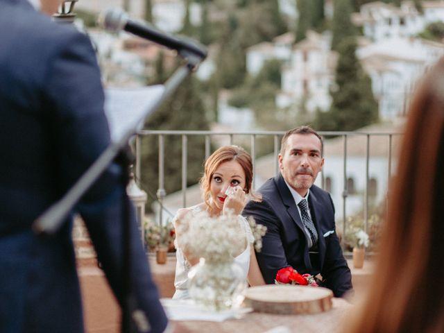 La boda de Joaquín y Ainhoa en Granada, Granada 38