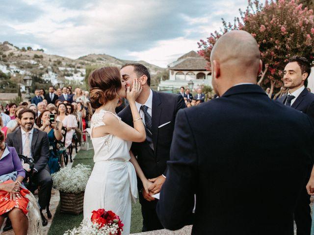 La boda de Joaquín y Ainhoa en Granada, Granada 43
