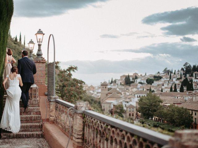 La boda de Joaquín y Ainhoa en Granada, Granada 51