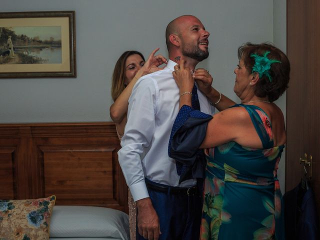 La boda de Antonio y Maria en Navalcarnero, Madrid 1