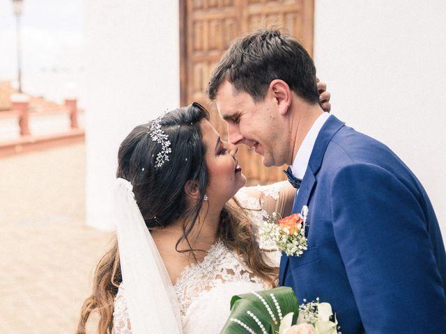 La boda de Enrique y Ashley en Icod de los Vinos, Santa Cruz de Tenerife 35