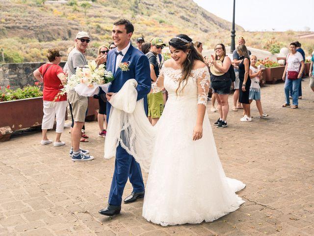La boda de Enrique y Ashley en Icod de los Vinos, Santa Cruz de Tenerife 41