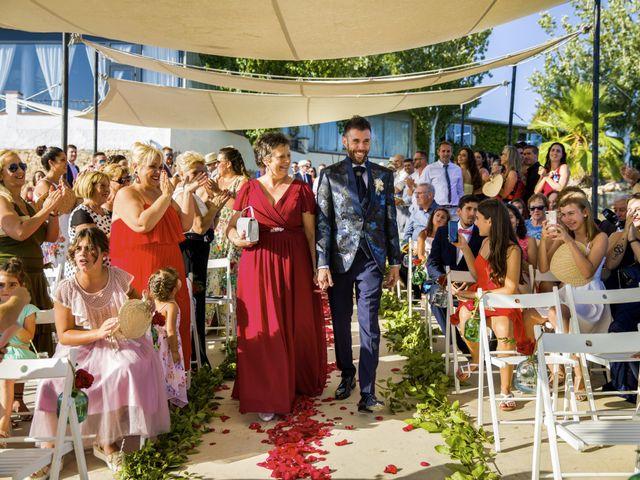 La boda de Andreu y Laura en Sant Cugat Sesgarrigues, Barcelona 22