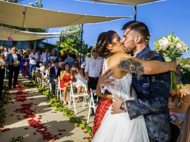 La boda de Andreu y Laura en Sant Cugat Sesgarrigues, Barcelona 27