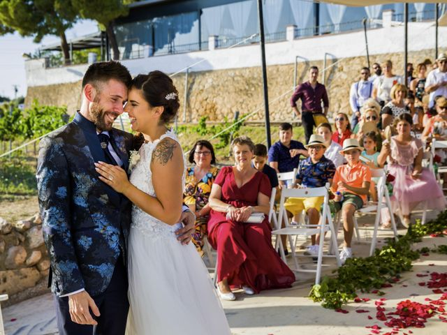 La boda de Andreu y Laura en Sant Cugat Sesgarrigues, Barcelona 36