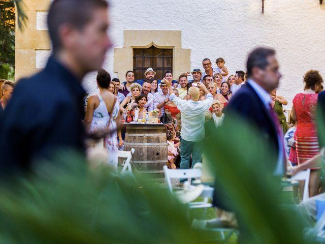 La boda de Andreu y Laura en Sant Cugat Sesgarrigues, Barcelona 39