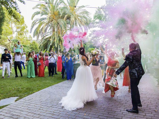 La boda de Andreu y Laura en Sant Cugat Sesgarrigues, Barcelona 41