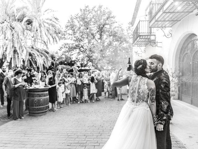 La boda de Andreu y Laura en Sant Cugat Sesgarrigues, Barcelona 42