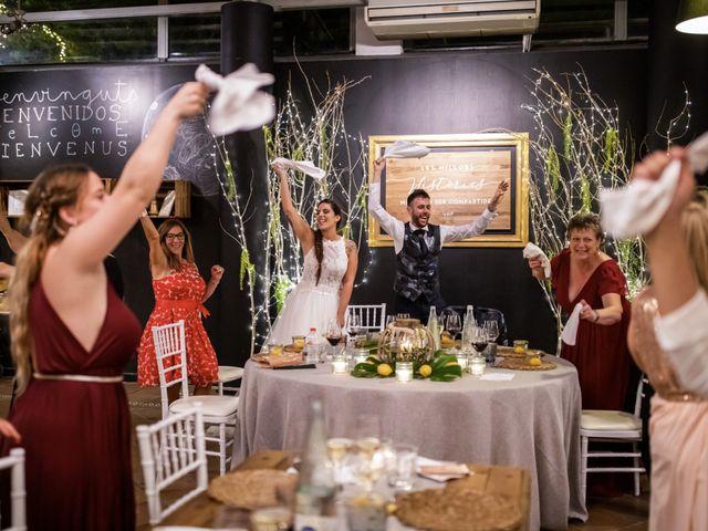 La boda de Andreu y Laura en Sant Cugat Sesgarrigues, Barcelona 61