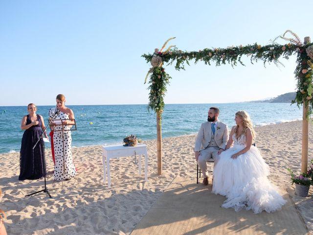 La boda de Marc y Alba en Arenys De Mar, Barcelona 2
