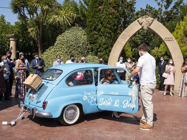 La boda de Javi y Sara en Laguardia, Álava 14