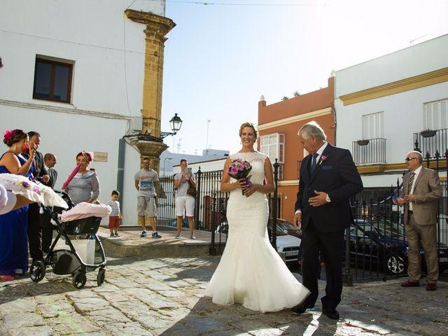 La boda de Eduardo  y Beatriz en Jerez De La Frontera, Cádiz 7