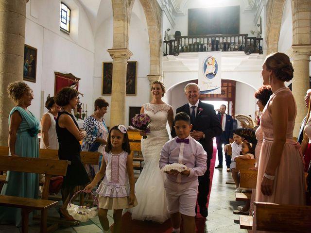 La boda de Eduardo  y Beatriz en Jerez De La Frontera, Cádiz 10