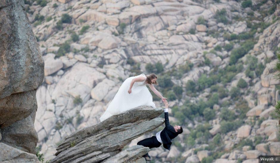 La boda de Rebeca y Jonathan en Madrid, Madrid