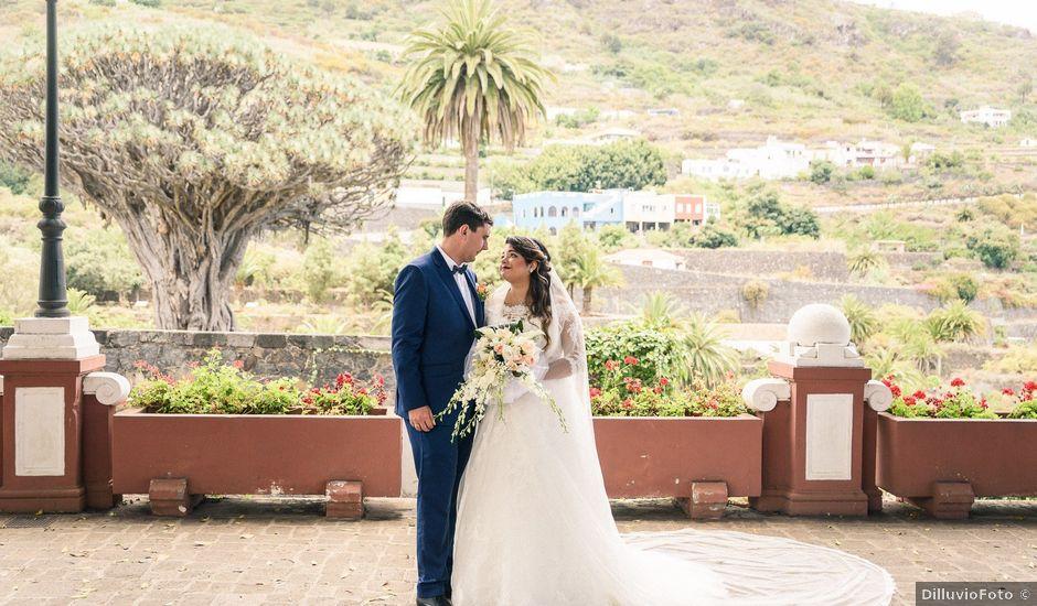 La boda de Enrique y Ashley en Icod de los Vinos, Santa Cruz de Tenerife