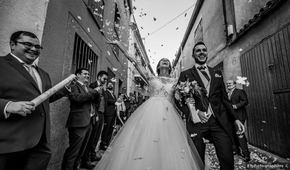 La boda de Jony y Ainhoa en Madroñera, Cáceres