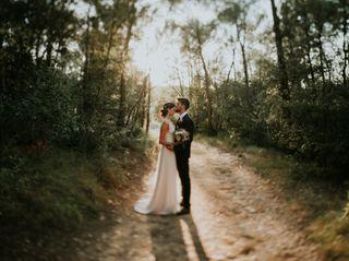 La boda de Meritxell y Leandro