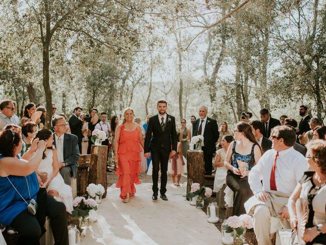 La boda de Leandro y Meritxell en Pontos, Girona 16
