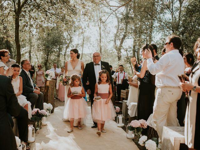 La boda de Leandro y Meritxell en Pontos, Girona 17