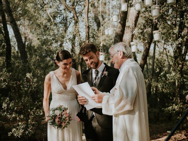 La boda de Leandro y Meritxell en Pontos, Girona 19