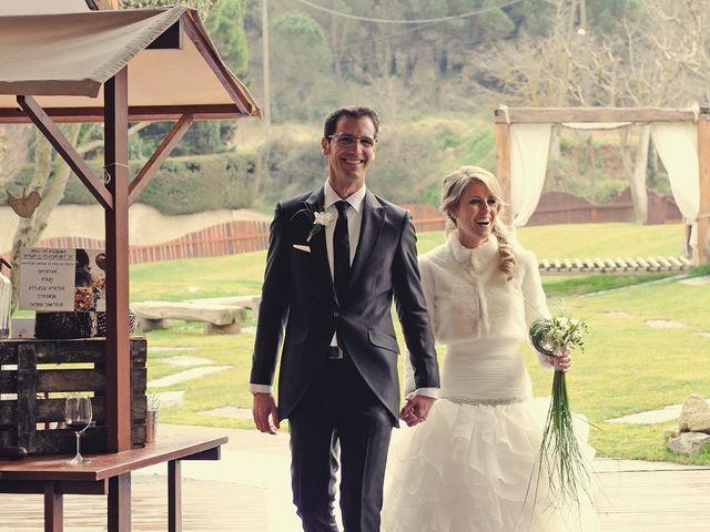 La boda de Fernando y Silvia en Sant Fost De Campsentelles, Barcelona 12