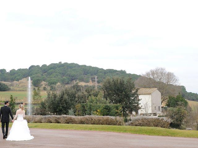 La boda de Fernando y Silvia en Sant Fost De Campsentelles, Barcelona 14