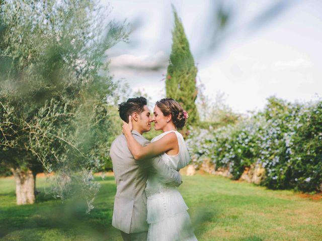 La boda de Agus y Raquel en Cala Tarida, Islas Baleares 13